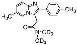 Picture of Zolpidem-D6.tartrate