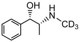 Picture of (+)-Ephedrine-D3.HCl