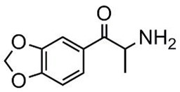 Picture of 3,4-Methylendioxycathinone.HCl