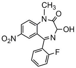 Picture of 3-Hydroxyflunitrazepam