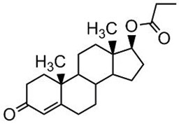 Picture of Testosterone 17-propionate