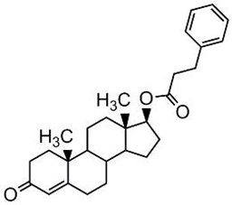 Picture of Testosterone 17-phenylpropionate