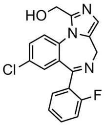 Picture of α-Hydroxymidazolam