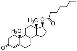 Picture of Testosterone 17-heptanoate