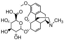 Picture of Codeine-6-β-D-glucuronide.TFA