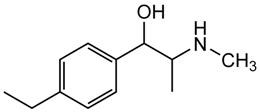 Picture of d,l-4-Ethylephedrine.HCl