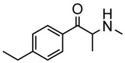 Picture of d,l-4-Ethylmethcathinone.HCl