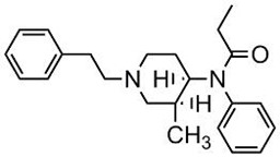 Picture of d,l-cis-3-Methylfentanyl.HCl