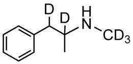 Picture of d,l-Methamphetamine-D5.HCl