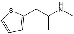 Picture of d,l-Methiopropamine.HCl