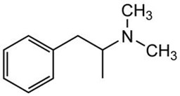 Picture of d,l-N,N-Dimethylamphetamine.HCl