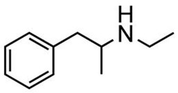 Picture of d,l-N-Ethylamphetamine.HCl