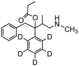 Picture of d,l-Norpropoxyphene-D5.maleate