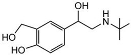 Picture of d,l-Salbutamol
