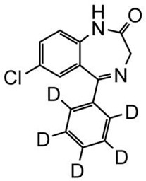 Picture of Desmethyldiazepam-D5