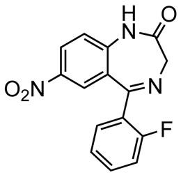Picture of Desmethylflunitrazepam