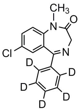 Picture of Diazepam-D5