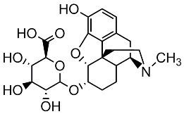 Picture of Dihydromorphine-6-β-D-glucuronide.TFA
