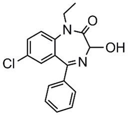 Picture of N-Ethyloxazepam