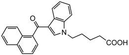 Picture of JWH-018 N-pentanoic acid metabolite