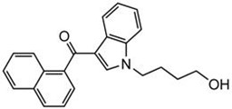 Picture of JWH-073 N-(4-hydroxybutyl) metabolite