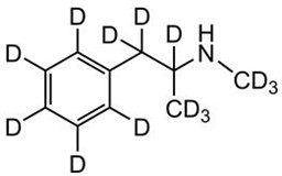 Picture of d,l-Methamphetamine-D14.HCl