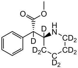 Picture of d,l-threo-Methylphenidate-D10.HCl