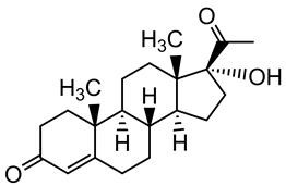 Picture of 17alpha-Hydroxyprogesterone