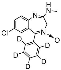 Picture of Chlordiazepoxide-D5
