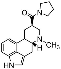Picture of N-Pyrrolidyllysergamide.tartrate