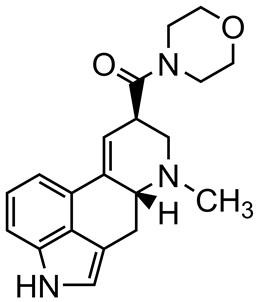 Picture of N-Morpholinyllysergamide.tartrate