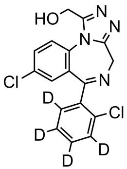 Picture of alpha-Hydroxytriazolam-D4