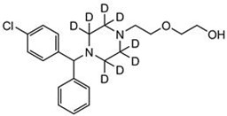 Picture of Hydroxyzine-D8.2HCl