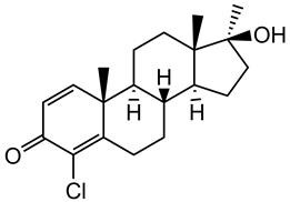 Picture of Chlorodehydromethyltestosterone