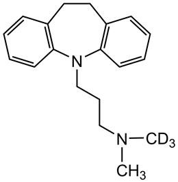 Picture of Imipramine-D3.maleate