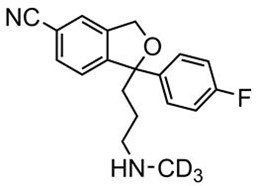 Picture of N-Desmethylcitalopram-D3.HCl