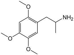 Picture of d,l-2,4,5-Trimethoxyamphetamine.HCl