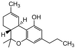 Picture of Tetrahydrocannabivarin (THCV)
