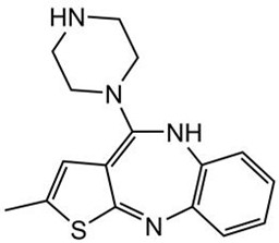 Picture of N-Desmethylolanzapine